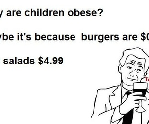 obese, burger, and funny image