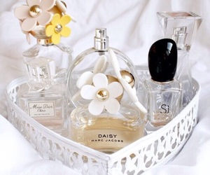 perfume, daisy, and girly image