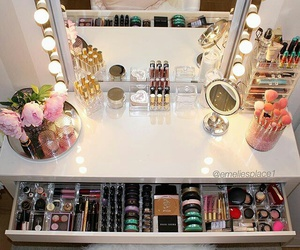 luxury, rich, and makeup image