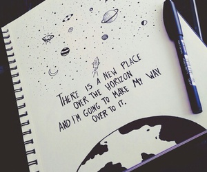 art, quotes, and draw image