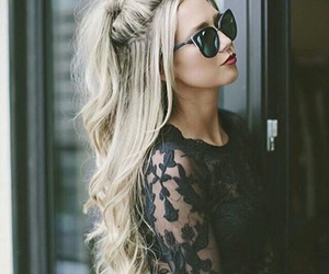 dressing, glasses, and hair image