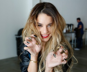 vanessa hudgens, hair, and nails image