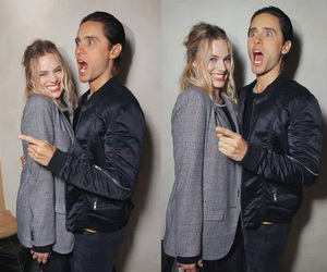 jared leto, perfect couple, and margot robbie image