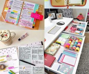 school, diy, and study image
