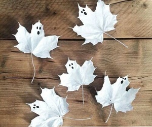 autumn, fall, and ghost image
