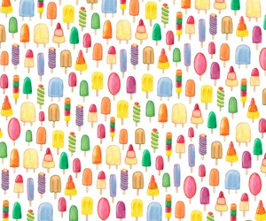 ice, ice cream, and lolly image