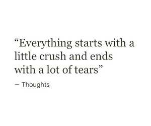 quotes, crush, and love image