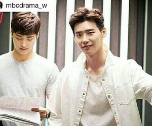 kdrama and w - two worlds image