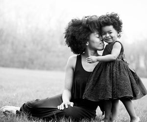 beauty, child, and curly hair image