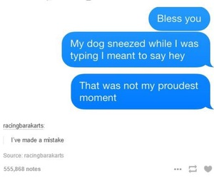 funny, dog, and sneeze image