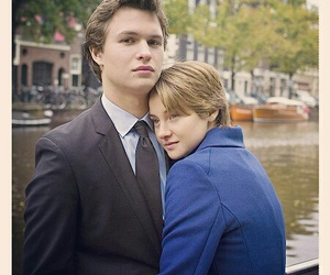 the fault in our stars, love, and couple image