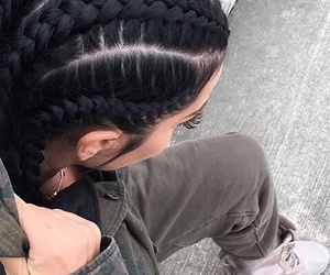 braids, hair, and style image