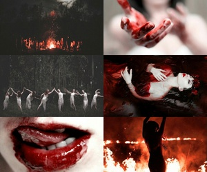 aesthetic, blood, and greek image