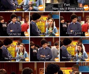 funny, fork, and drake and josh image