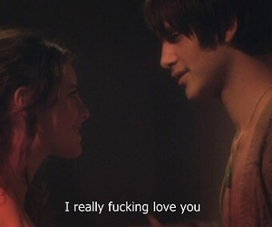 love, skin, and Effy image