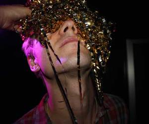 drunk, man, and sparkly image
