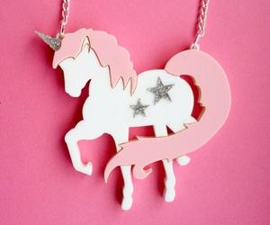 unicorn, pink, and stars image