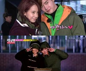 running man, song ji hyo, and lee jong suk image