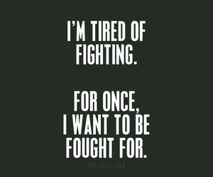 quotes, sad, and fight image