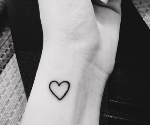 heart, tattoo, and grunge image