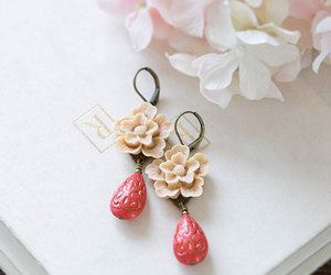 cherry blossoms, etsy, and bridesmaid gift image
