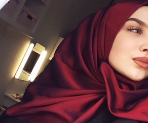 beauty, girl, and muslim image