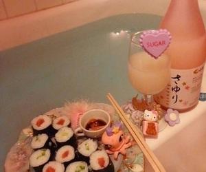 bath, food, and kawaii image