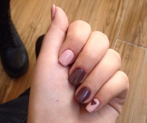 nails, new, and brown image