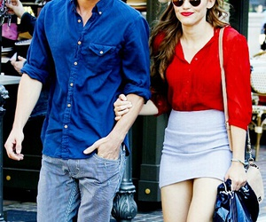 colton haynes, holland roden, and couple image