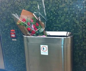 rose, flowers, and sad image