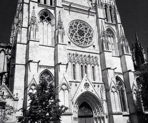 beautiful, église, and black image