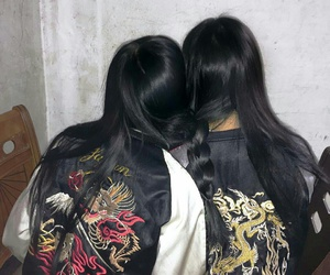 friends, aesthetic, and asian image