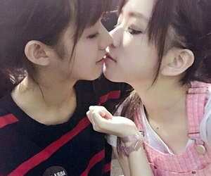 Asian Girls Kissing Video