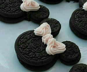 oreo, food, and disney image