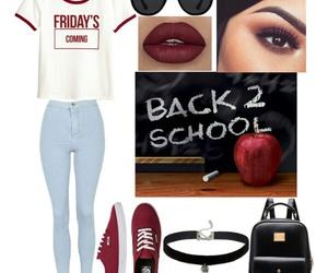 back, fashion, and clothing image
