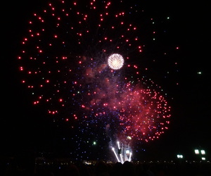 firework, france, and bordeaux image
