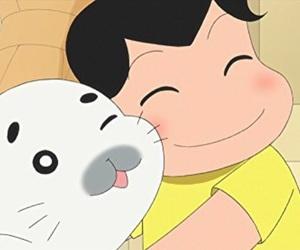 animation, cute, and 少年アシベ image