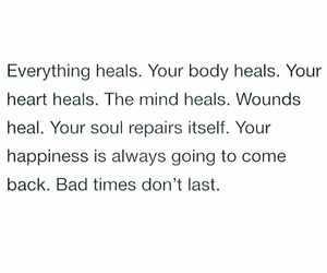 heal, quote, and inspirational quotes image