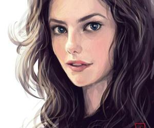 art, KAYA SCODELARIO, and drawing image