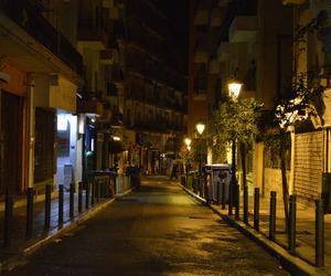 Greece, night, and street image