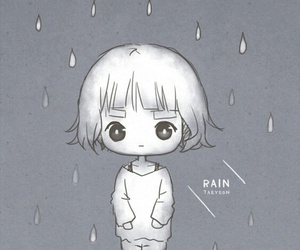 fan art, girls generation, and rain image
