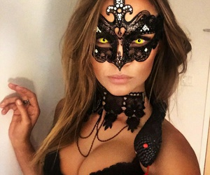 costume, Halloween, and josephine skriver image