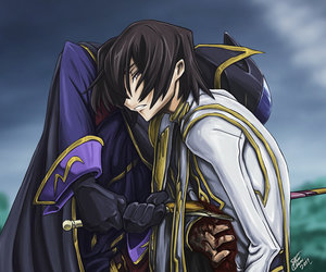 code geass, lelouch, and anime image