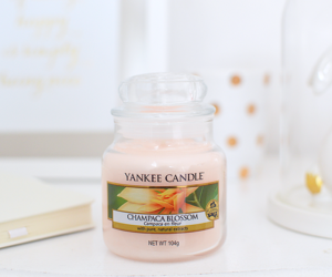 candles, yankee candle, and pink image
