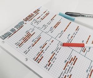 handwriting, study, and time line image