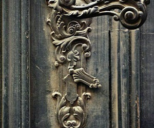 classy, door, and old image