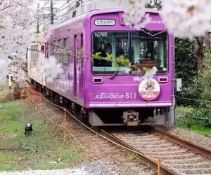 japan, train, and japanese image