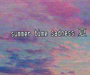 summer time sadness