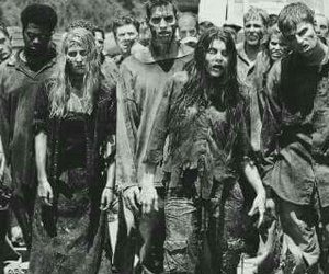 zombies, the walking dead, and zombie image