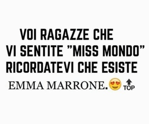 emma, emma marrone, and miss mondo image